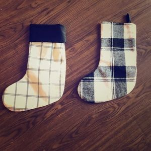 2 for one Christmas stockings